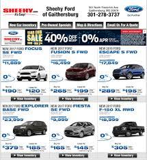 new car specials in gaithersburg md