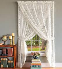 How To Hang Curtains On A Round Top Window Arched Window Drapery Ideas Arched Windows Curtains On Hooks