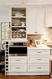 Microwave Kitchen Cabinets by Kitchen Room Built In Microwave Kitchen Traditional Wood
