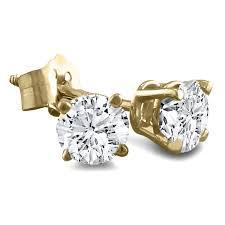 gold diamond earrings white gold diamond stud earrings hd earring diamantbilds