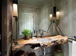 bathroom decor awesome grey white glass wood luxury design cool