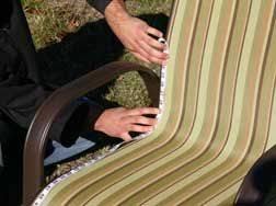 Replacing Fabric On Patio Chairs 15 Best Recovering Patio Chairs Images On Pinterest Patio Chairs
