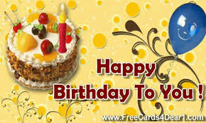 happy bday animated card wishes free monthly calendar