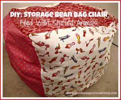 bean bag chair storage