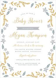 baby shower invitations 40 designs basic invite