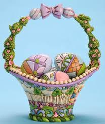 jim shore easter baskets easter eggs bunnies egg baskets by jim shore