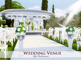 wedding arches in sims 4 the sims resource wedding venue by praline sims sims 4 downloads