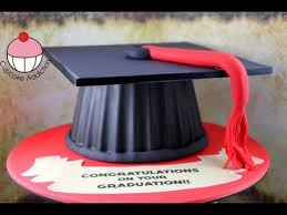 edible graduation caps make a graduation hat cake using your cupcake mould a