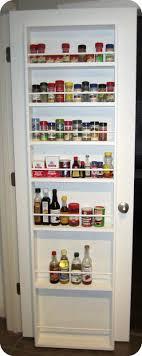kitchen spice organization ideas best 25 pantry door rack ideas on kitchen spice racks