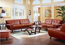 Sofas To Go Leather Shop For A Home Midtown East Terracotta Leather 5