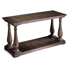 Rustic Sofa Table by Magnussen Densbury Rectangular Cocktail Table Hayneedle