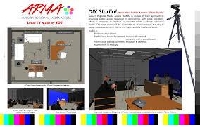 media room acoustic panels new tv studio in downtown auburn