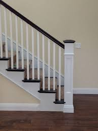 Recessed Handrail Recessed Panel Box Newel Traditional Staircase San Diego