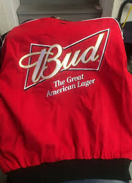 bud light nascar jacket budweiser nascar bud jacket collectibles in naperville il