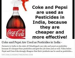 Coca Cola Meme - meme coke and pepsi used as pesticides in india