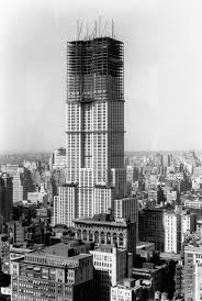 the speed with which they built the empire state building 1931