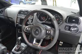 polo volkswagen interior volkswagen polo gti indian debut 2016 auto expo wagenclub