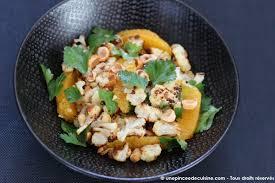 cuisiner le chou fleur chou fleur rôti et salade aux noisettes une pincée de cuisine