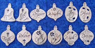 Scroll Saw Christmas Decorations - product page
