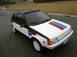 peugeot 205 rally 88 peugeot 205 gti 1 9 rally stripes 33k orig miles timecapsule