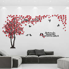 tree wall mural picture more detailed picture about 3d couple 3d couple tree wall murals for living room bedroom sofa backdrop tv background stickers wall decal