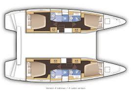 Luxury Yacht Floor Plans Catamaran Lagoon 42 For Charter In Croatia From 2 248 Per Week