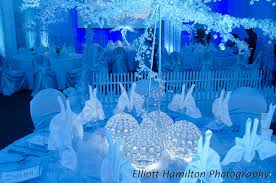 Winter Wonderland Centerpieces by Event Decorations Spectacular Rentals San Antonio Linens Led