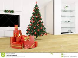 living room with christmas tree stock illustration image 33197773 royalty free stock photo download living room with christmas