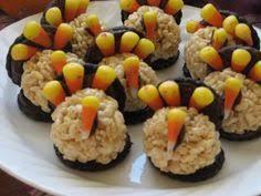rice krispy treat turkey stuffed with m m s rice krispies