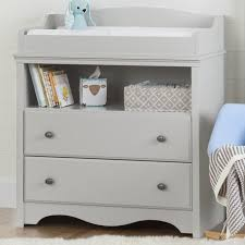 Changing Table South Shore Soft Grey Changing Table Reviews Wayfair Ca