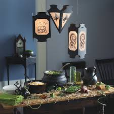 diy halloween home decor diy halloween spooky lantern sign post lawn decor giant spider in