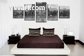 5 piece black and white eiffel tower group canvas bedroom decor 5 piece wall art eiffel tower artwork raining art black