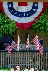 Fourth Of July Door Decorations 33 Front Porch Decorating Ideas For The 4th Of July Family