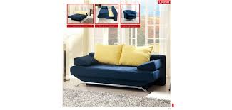 Convertible Storage Sofa by Croma Blue Modern Queen Sofa Bed Storage Sleeper