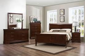 budget louis phillipe bedroom set dark cherry in kitchener