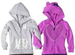 circo infant and toddler girls u0027 long sleeve hoodies only 8 40
