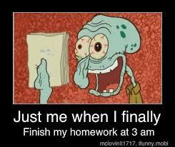 Homework Meme - homework meme by mslthebest99 memedroid