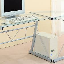 easy build glass corner desk home painting ideas pertaining to