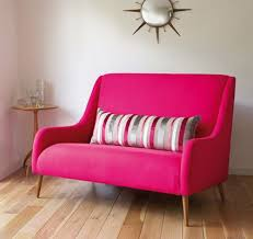 sofa pink pink sofa oh oh would be for a kitchen