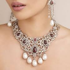wedding necklace designs jewellery bridal suit neck design fashion jewellery sets