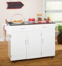 stainless steel top kitchen island barrel studio garrettsville kitchen island with stainless