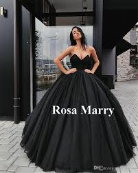 wedding dresses wholesale black gown wedding dresses 2018 sweetheart corset back