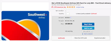 gift card discount save more on the southwest sale with this 10 gift card discount
