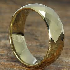 mens gold rings hades gold rings mens faceted forever metals