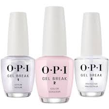 opi gel break trio pack properly pink nt p01 3 x 15ml