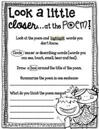 ideas collection teaching poetry to elementary school students on