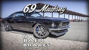 Black 69 Mustang 69 Mustang From Baer Brakes 69 1969 Mustang Stang Baer