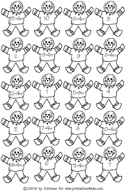 gingerbread math subtraction 4s printables for kids u2013 free word