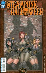 steampunk halloween 2014 comic books
