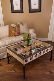 best 25 wine barrel coffee table ideas on pinterest wine barrel french glass top coffee table